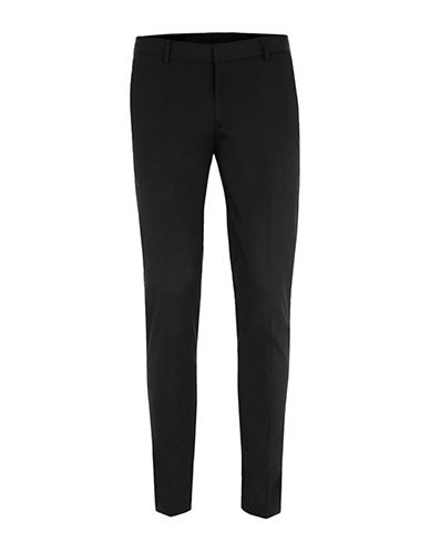 Topman Ultra Skinny Fit Dress Pants-BLACK-36 Long