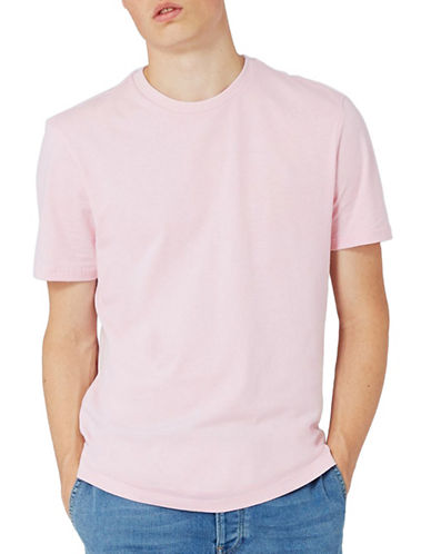 Topman Slim Fit T-Shirt-PINK-Large