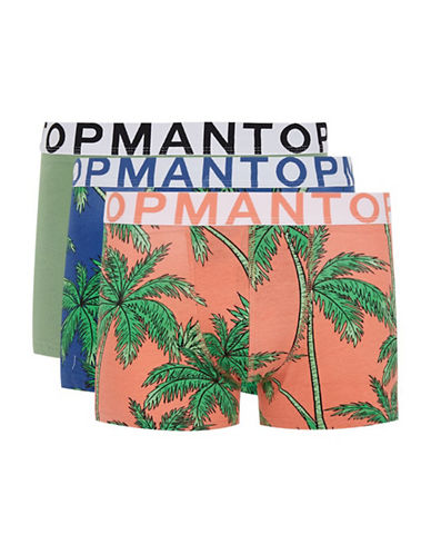 Topman Three-Pack Palm Tree Trunks-MULTI-Large/X-Large