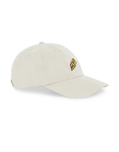Topman Stay Gold Baseball Cap-STONE-One Size