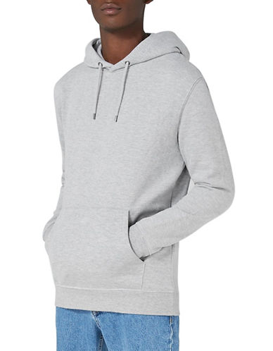 Topman Dray Hoodie-LIGHT GREY-Large