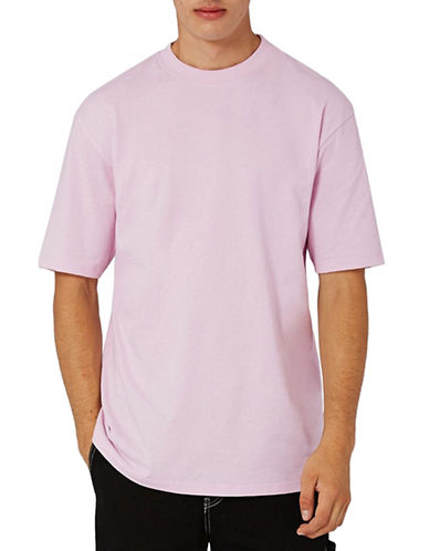 Topman Oversized T-Shirt-PINK-Medium