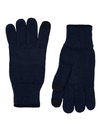 Topman Touchscreen Gloves-BLUE-Medium