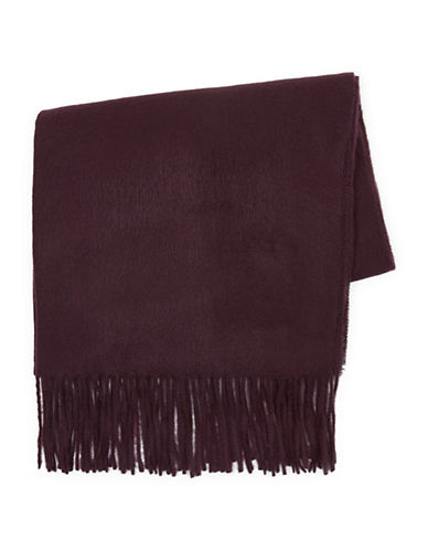 Topman Fargo Washed Scarf-RED-One Size