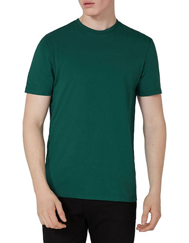 Topman Slim Fit T-Shirt-GREEN-Medium