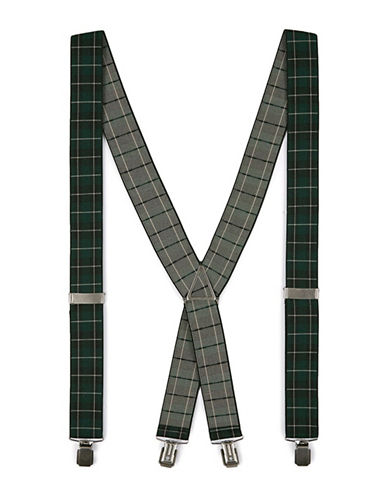 Topman Watch Checked Suspenders-MULTI-COLOURED-One Size