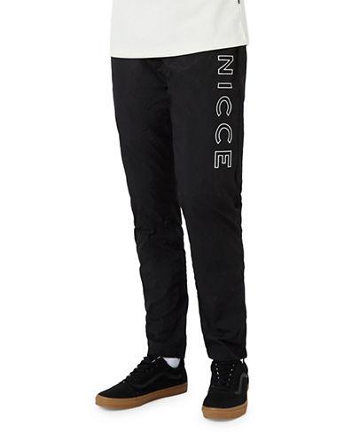 Topman NICCE Reflective Joggers-BLACK-X-Large 89415494_BLACK_X-Large