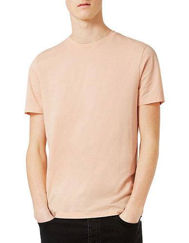 Topman Slim Fit T-Shirt-PINK-Medium