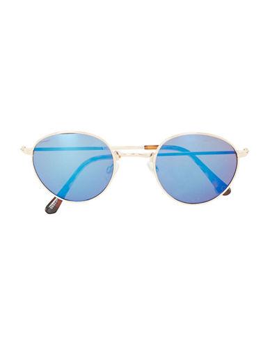 Topman Revo Round Sunglasses-MULTI-COLOURED-One Size
