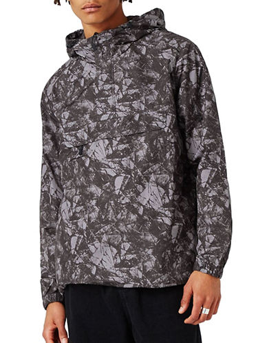 Topman Printed Overhead Jacket-MULTI-X-Large