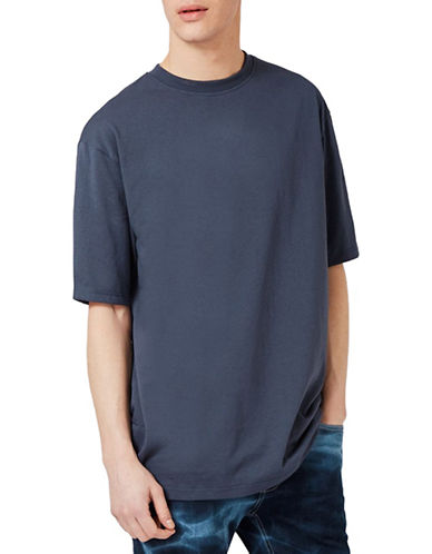 Topman Oversized T-Shirt-DARK GREY-Large 89086540_DARK GREY_Large
