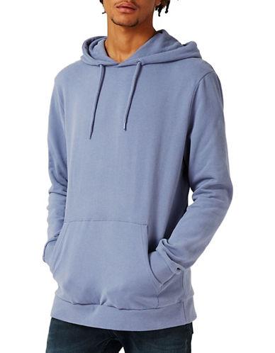 Topman Jax Hoodie-LIGHT BLUE-Medium