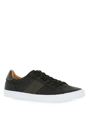 Topman Panelled Trainers-BLACK-EU 45/US 12