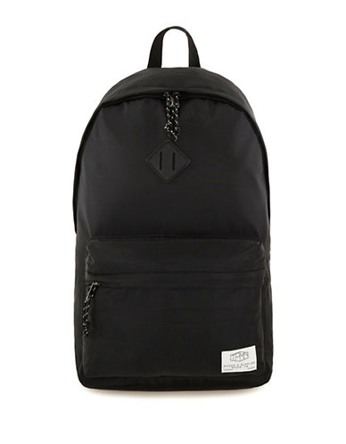 Topman Nylon Backpack-BLACK-One Size