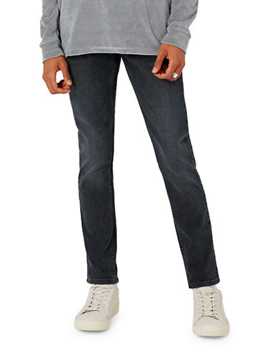 Topman Mister Stretch Tapered Jeans-BLUE-36 Long