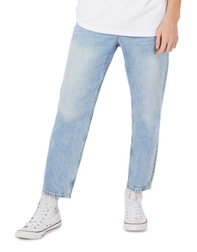 Topman Original Fit Jeans-BLUE-34 Short