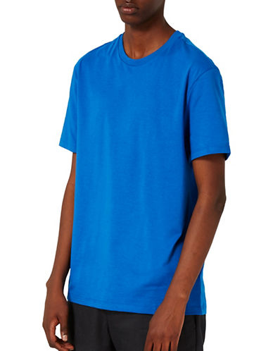 Topman Slim Fit T-Shirt-LIGHT BLUE-Small