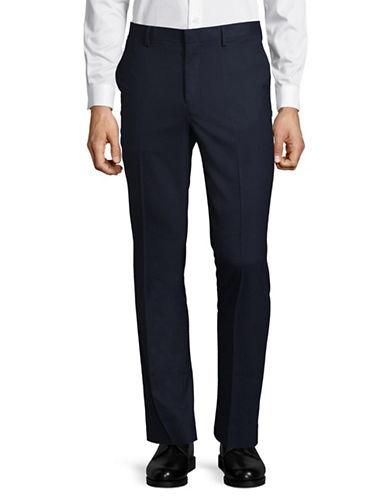 Topman Classic Skinny Trousers-DARK BLUE-34