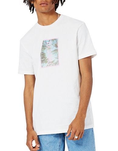 Topman Toujours Print T-Shirt-WHITE-Large 89294164_WHITE_Large