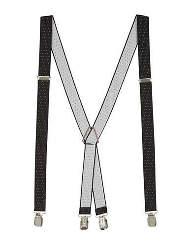 Topman Pindot Suspenders-BLACK-One Size