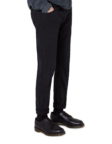 Topman JAMES BAY X TOPMAN Jeans with Taping-BLACK-36