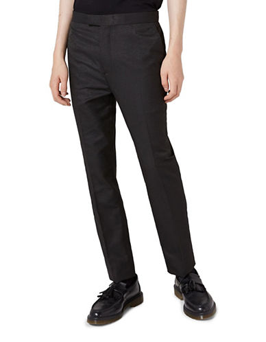 Topman JAMES BAY X TOPMAN Suit Trousers-GREY-34 Long
