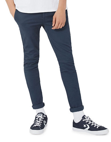 Topman Spray-On Chinos-GREY-32 Long
