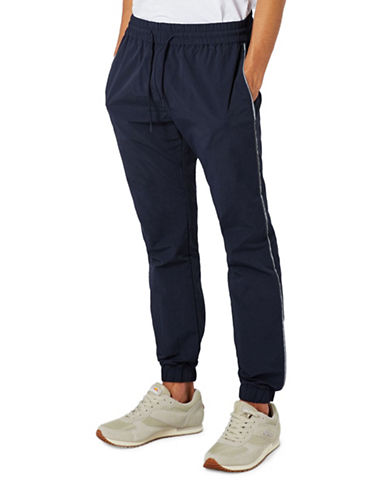 Topman Dustin Slim Joggers-DARK BLUE-X-Small