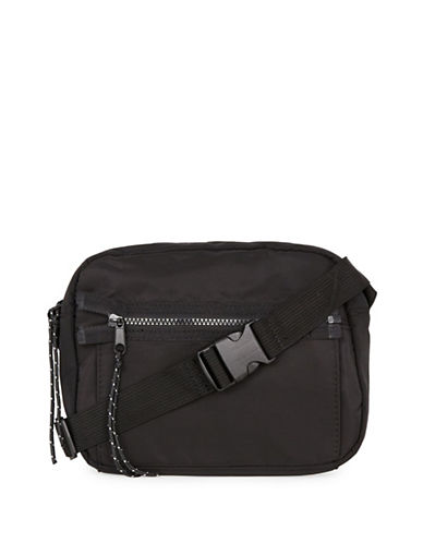 Topman Crossbody Bag-BLACK-One Size