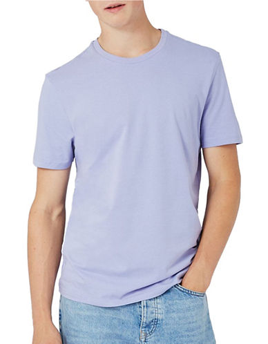 Topman Slim Fit T-Shirt-PURPLE-Large