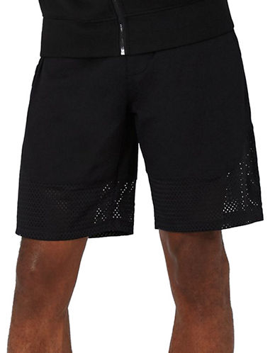 Topman AAA Mesh Shorts-BLACK-X-Small