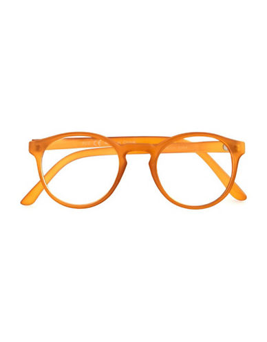 Topman Honey Round Reader Glasses-ORANGE-One Size 89479997_ORANGE_One Size