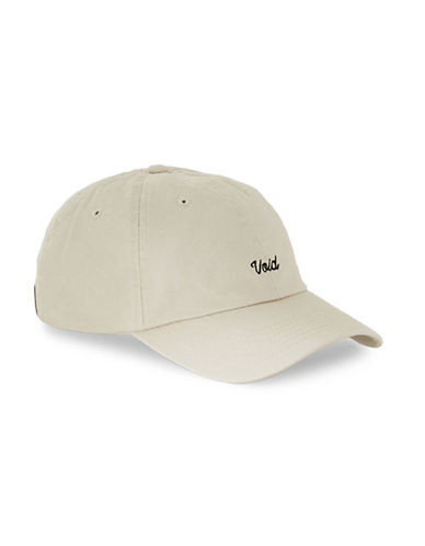 Topman Embroidered Void Cap-STONE-One Size