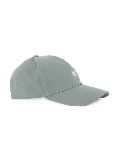 Topman Washed Eye Baseball Cap-GREEN-One Size