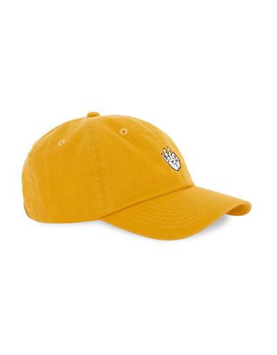 Topman A-Okay Baseball Cap-YELLOW-One Size