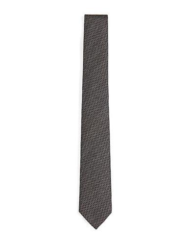 Topman Glitter Skinny Tie-GREEN-One Size