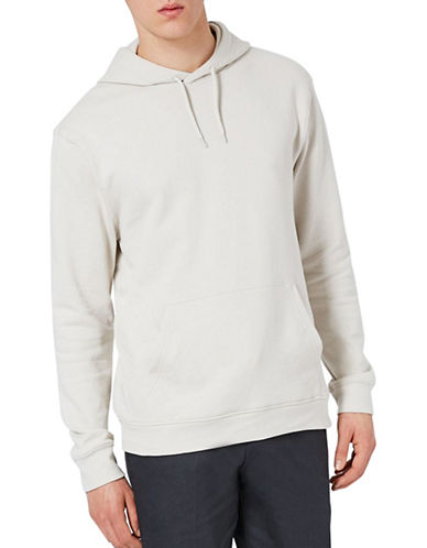 Topman Dray Hoodie-STONE-Small