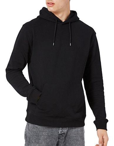 Topman Classic Fit Hoodie-BLACK-Large