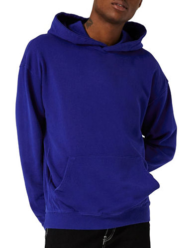 Topman Nico Oversized Hoodie-LIGHT BLUE-Large