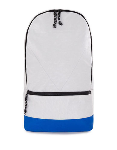 Topman Colourblock Rucksack-LIGHT GREY-One Size