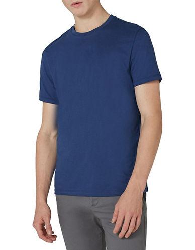 Topman Classic Short Sleeve T-Shirt-LIGHT BLUE-Small