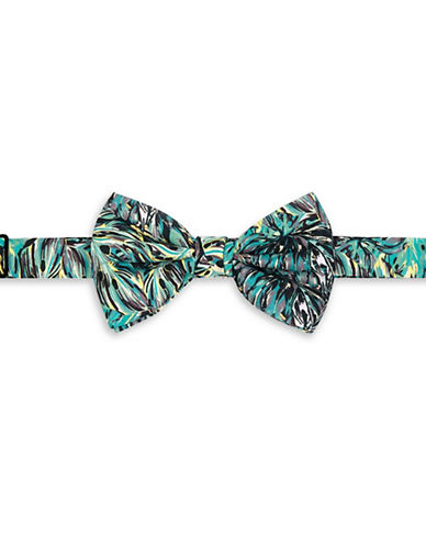 Topman Multi-Coloured Leaf Bow Tie-MULTI-COLOURED-One Size