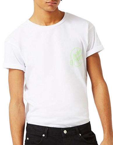 Topman Bad Omen T-Shirt-WHITE-Medium 89149151_WHITE_Medium