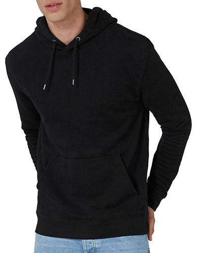 Topman Dray Hoodie-BLACK-Large