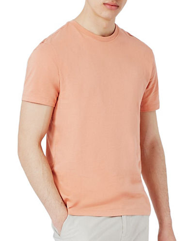 Topman Clay Slim Fit T-Shirt-ORANGE-Small
