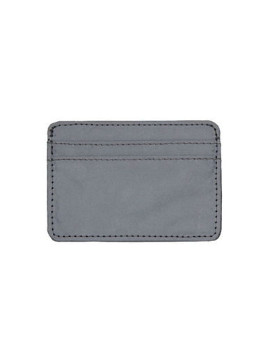 Topman Reflective Card Holder-SILVER-One Size