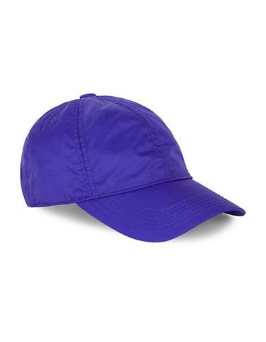 Topman Cobalt Blue Ripstop Curve Peak Cap-BLUE-One Size