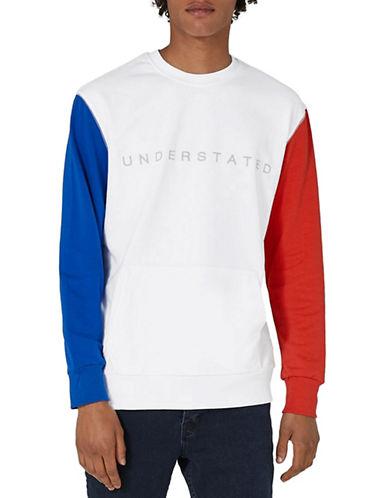 Topman Understated Embroidered Sweatshirt-MULTI-X-Large
