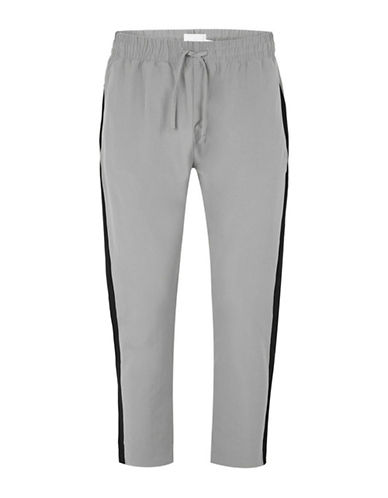 Topman Premium Skinny Trousers-GREY-34 Long