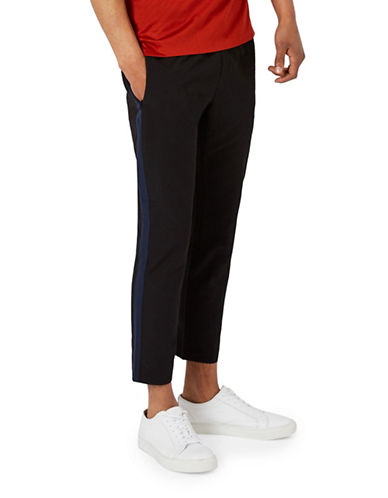 Topman Premium Skinny Fit Dress Pants-BLACK-28 Short